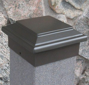 - Titan Post Cap (to match Aurora Deck Light), 5-1/2