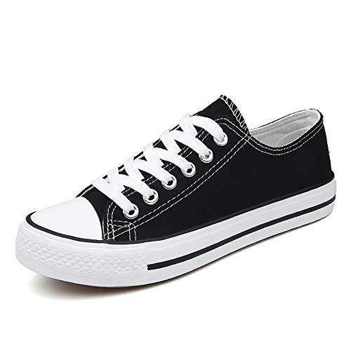 Bianche Unisex Casual Scarpe Tie Di Da Sportive Tela Sneaker Passeggio Sneakers Vulcanizzate Donna Esterno Leggero Traspirante Ysfu fvBwF8qxF