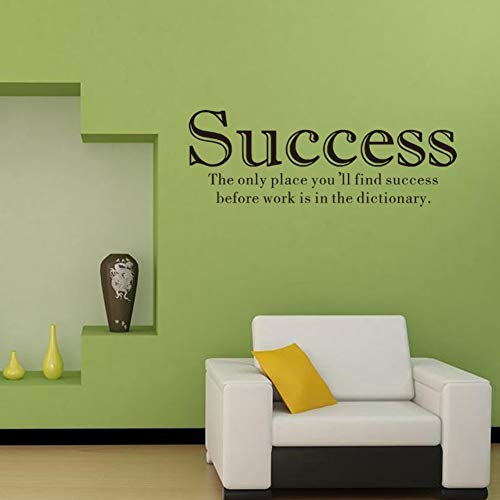 YYQXDD Wall Sticker Letter Wall Sticker Success Slogan Decorative Painting Bedroomliving Room Tv Wall Decoration Wall Stickers Mural 2019#7 (Best Slogan For Success)