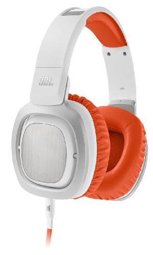 JBL J88i Premium Over-Ear Headphones with JBL Drivers, Rotatable Ear-Cups and Microphone - Orange