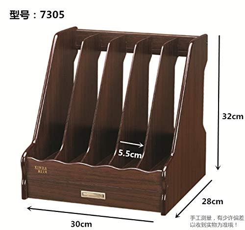Aktendeckel für Aktenordner aus aus aus Holz, dunkelbraun (7813) B07PYW35K8 | Offizielle Webseite  17c7ee