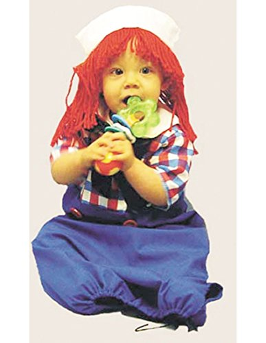 Raggedy Andy Costume Baby - Costumes 124382 Raggedy Andy Bunting Costume