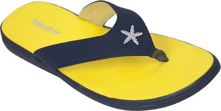 Starfish Flop Tidewater Women's Monterey Yellow Blue Sandals Flip x0w8gPq