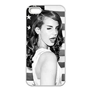 Hot Star Lana Del Rey Design TPU Custom Case For Iphone 5s iphone5-82319