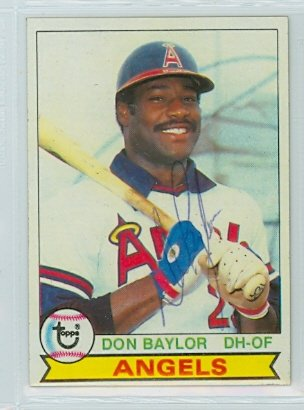 Baseball-mlb Sports Mem, Cards & Fan Shop Original Don Baylor Signed Onl Baseball Angels Orioles Yankees 1979 Al Mvp
