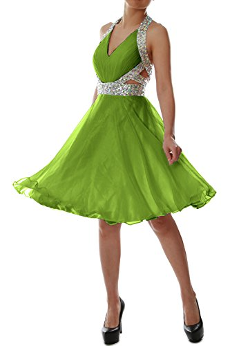 ad Senza MACloth linea Vestito Green a Donna maniche Olive IwIfEqBr