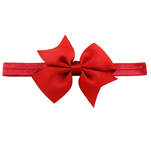 "20pcs Baby Girls Headbands 4"" Grosgrain Ribbon Hair Bows Headband Hair Band for Baby Girls Infants Toddlers Kids Teens"