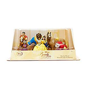 Disney Store Beauty and the Beast Figure Play Set ~ 6 piece