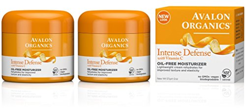 Avalon Organics Intense Defense Oil-Free Moisturizer, 2 Ounce (Pack of 2)