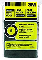 3M 10118NA #0 Fine Synthetic Steel Wool Pads