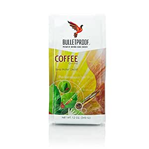 Bulletproof - The Original Ground Decaf Coffee, Upgraded Coffee Upgrades Your Day (12 Ounces)