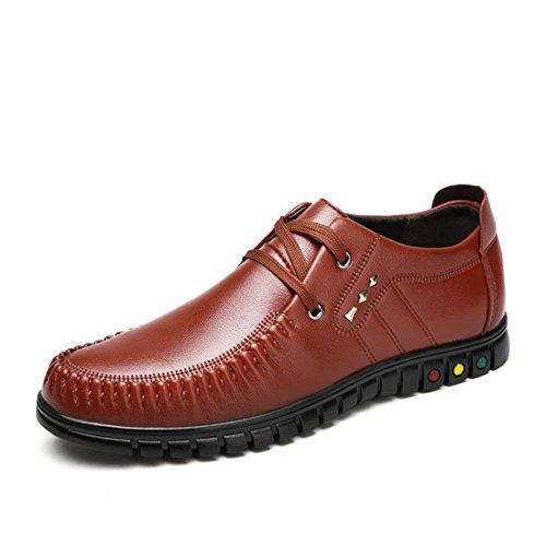 XIAFEN Mens New Style Lace-Up Comfortable Nice Look Fashion Dress Oxfords Shoes Brown uMsYvTBjT