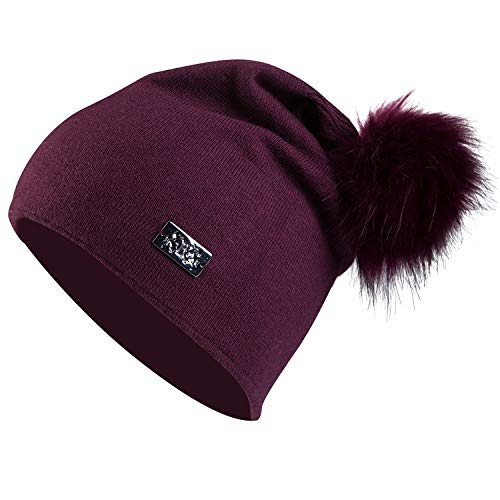 B-Vertigo-Linda-Womens-Hat-Burgundy-Dark-Red-One-Size