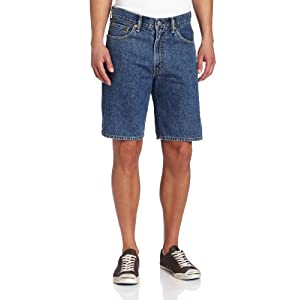 Levi's Men's 550 Short , Medium Stonewash, 36