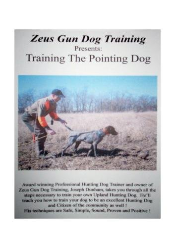 ZEUS GUN DOG TRAINING  ---  Training The Pointing Dog (Pointing Dog Training Dvd)