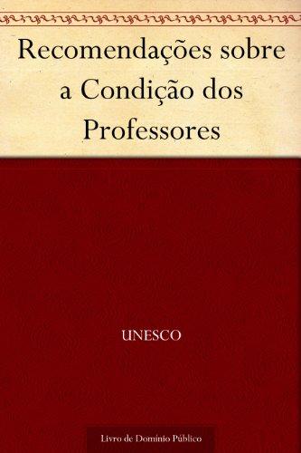 Recomendações sobre a Condição dos Professores