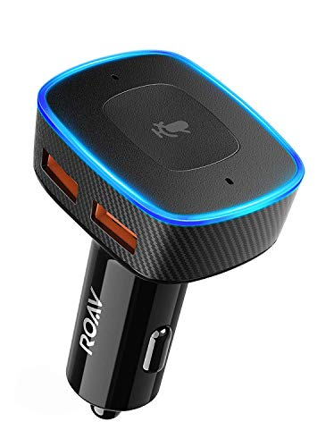 Roav Viva Anker, Alexa-Enabled 2-Port USB Car Charger in-Car Navigation, Hands-Free Calling Music Streaming. iPhone Users: Update to The Latest iOS (11.4) (Single Item) by ROAV