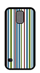 TUTU158600 Hard Case Back Custom PC cell phone case for samsung galaxy s5 - Red zigzag stripes