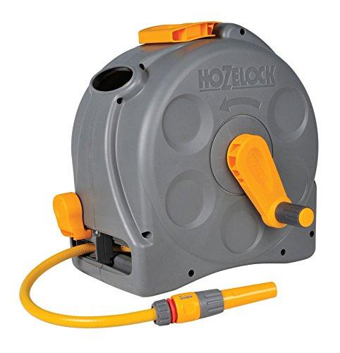 Hozelock Compact Enclosed Reel (with 25m Hose) - Hozelock Auto