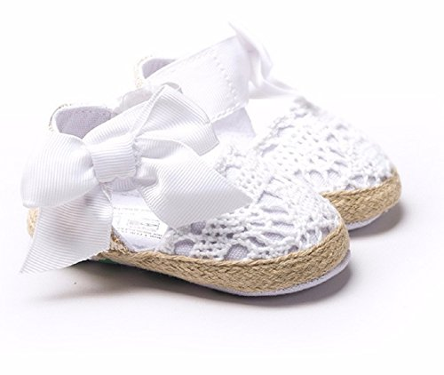 New Fashion Sweet Newborn Baby Girls Spring Summer Style Prewalker Princess Shoes Knitting Bow Soft Soled Shoes 0-1 Year (1, (Hipster Disney Princess Halloween)