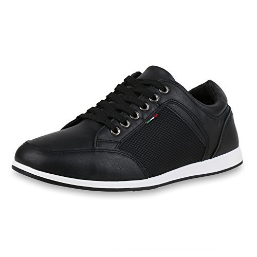Life De Schwarz Faible Impressions Chaussures Herren Sneakers qn8Od1w1Ex