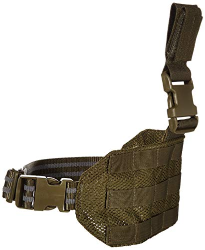 Leg Molle Drop - VooDoo Tactical 20-0129004000 Mesh Drop Leg Platform, OD