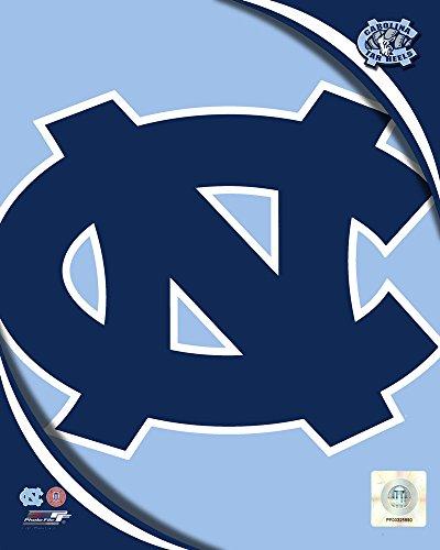 Prints Football Lithographs (University of North Carolina Tar Heels Team Logo Art Print, 8 x 10 inches)