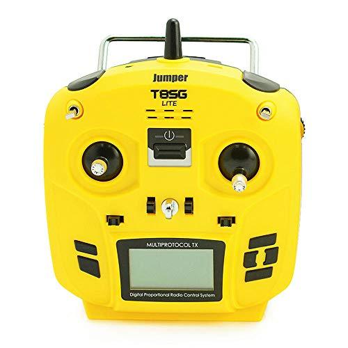 RotorLogic Jumper T8SG Lite - 12 Channel FrSky Futaba S-FHSS Compatible Radio Transmitter(Mode 2)