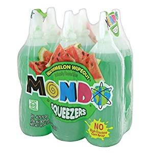 Mondo Watermelon Wipeout Flavored Drink 6.75 oz (3 Six Packs 18 Total) (Best Of Total Wipeout)
