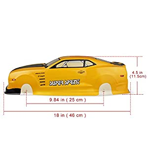 Coolplay 1/10 PVC On Road Drift Car Body Shell RC Racing Accessories Chevrolet Camaro