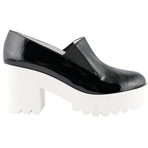 Exclusif Paris, Damen Stiefel & Stiefeletten  schwarz schwarz
