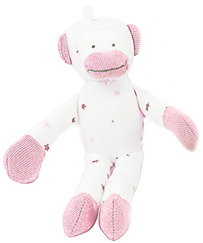 Under the Nile Baby Toy Scrappy Monkey Stuffed Animal 7