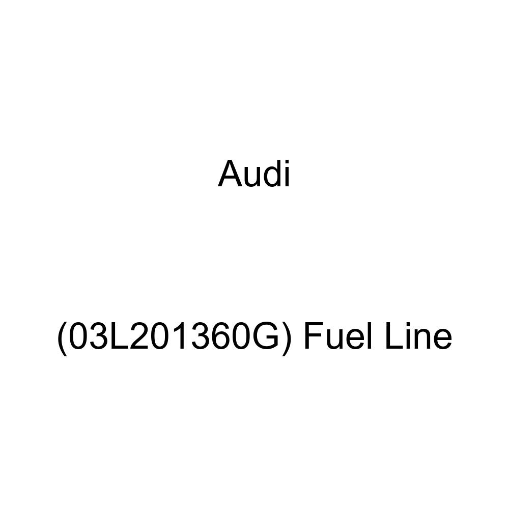 03L201360G Genuine Audi Fuel Line