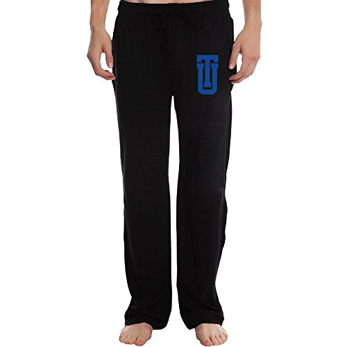 ZOENA Awesome University Of Tulsa Logo Workout Pants For Men Black Size XXL