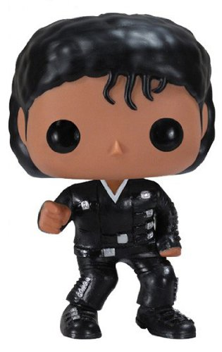Funko - Figurine Michael Jackson Bad Pop 10 cm - 0830395025