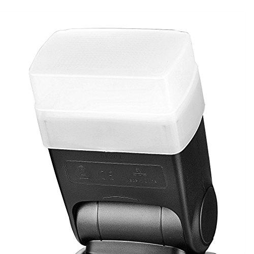 Bounce Light Hard Diffuser for Neewer TT560 TT520 Flash Speedlite ()