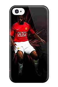 David Nuwayhid Iphone 4/4s Hybrid Tpu Case Cover Silicon Bumper Patrice Evra