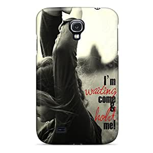 Tpu Shockproof/dirt-proof Come And Hold Me Cover Case For Galaxy(s4)