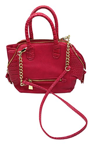 olivia-joy-valerie-double-handle-satchel-handbag-purse-fuchsia