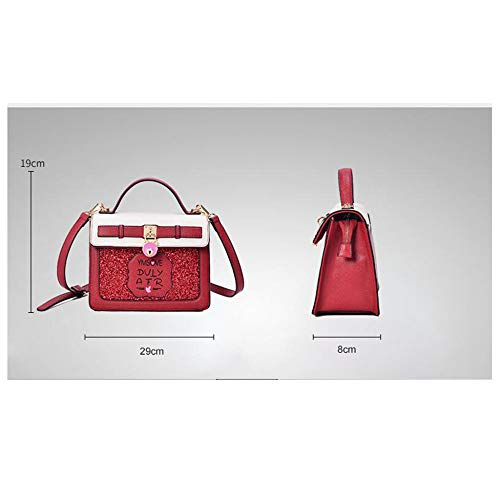 Red Messenger Personality Ladies à Main Student Sacs à Wild Sac Fashion BAILIANG Bandoulière xA4Rg7qOw