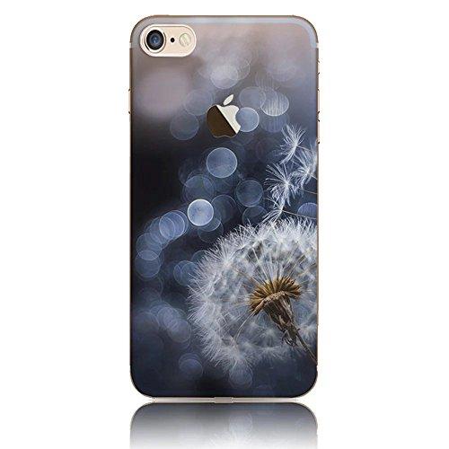 Funda para iPhone 4, Vandot TPU Silicona Pintado Funda para iPhone 4S Patrones de Pintura Case Suave Flexible Silicone Gel Paisaje Cajas de Teléfono móvil para iPhone 4 4S - Volcán y Estrella Cielo Scenery 02