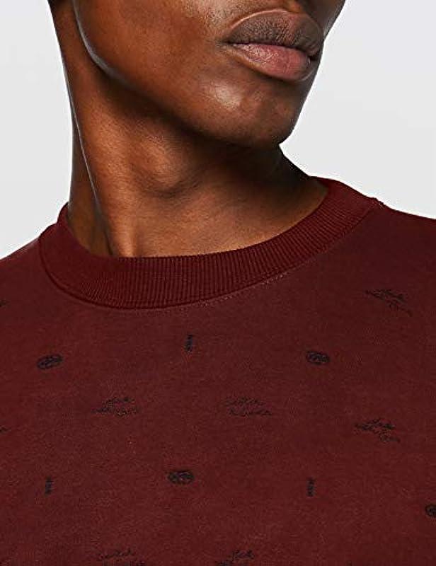 Scotch & Soda Męska bluza z mieszanki bawełny ekologicznej z haftem: Odzież