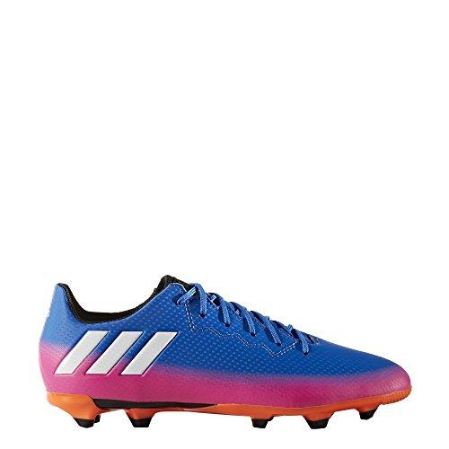 adidas MESSI 16.3 FG J - Botas de fútbol Línea Messipara niños, Azul - (AZUL/FTWBLA/NARSOL), -28