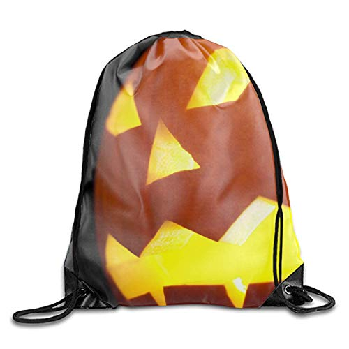 BJsihuanlujiud Unisex Drawstring Gym Sack Sport Bag - Subway Creepy Halloween -