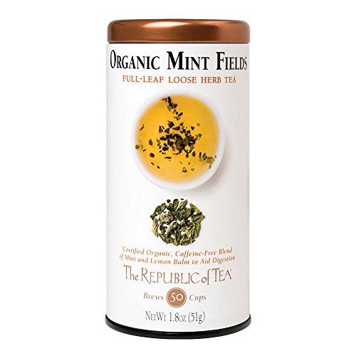 (Organic Mint Fields Herb Tea by The Republic of Tea - 1.8 oz loose)