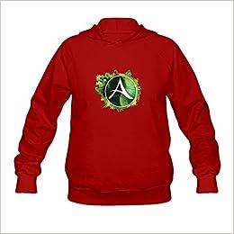 Archeage Logo Nerd 100 Cotton Red Long Sleeve Sweatshirts For