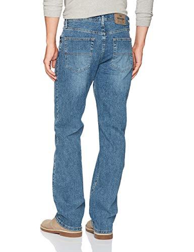 84db33f5 ... Wrangler Authentics Men's Classic 5-Pocket Regular Fit Jean,Vintage Blue  Flex,34X32 ...