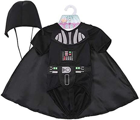 Star Wars - Disfraz de Darth Vader para mascota, Talla S perro (Rubies 887852-S)