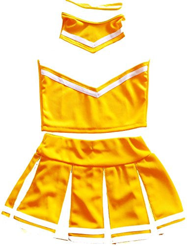 Women Cheerleader Cheerleading Outfit Uniform Costume Cosplay