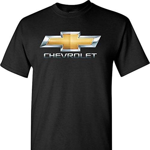 chevy-chevrolet-photographic-chrome-logo-on-a-black-t-shirt